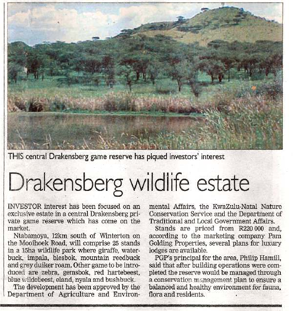 Sunday Tribune article 21 March 2004